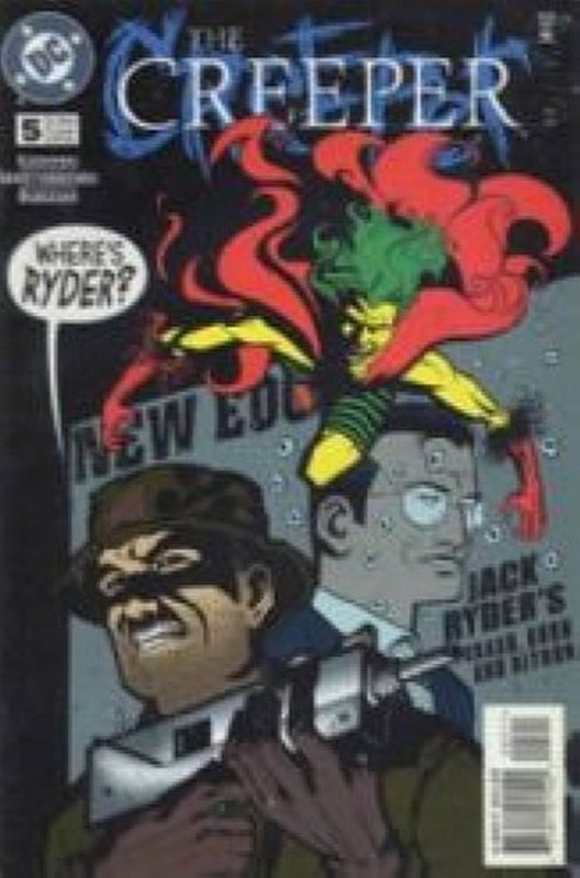 Cover of Creeper (Vol 2) #5. One of 250,000 Vintage American Comics on sale from Krypton!