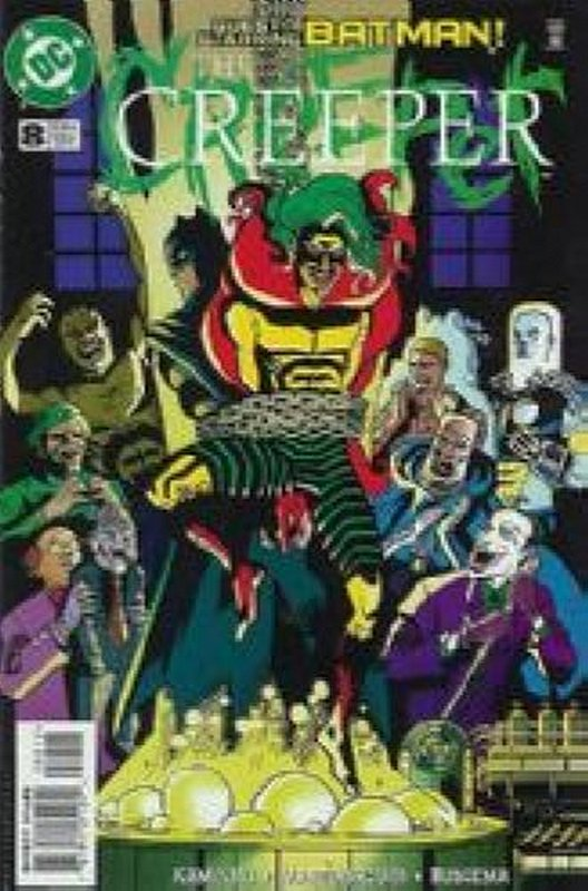 Cover of Creeper (Vol 2) #8. One of 250,000 Vintage American Comics on sale from Krypton!