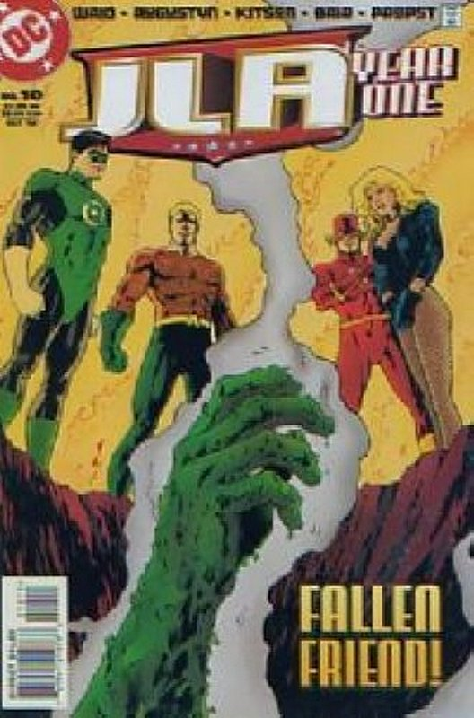 Cover of JLA Year One #10. One of 250,000 Vintage American Comics on sale from Krypton!
