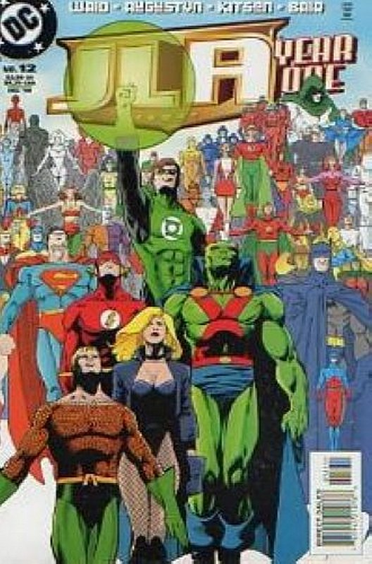 Cover of JLA Year One #12. One of 250,000 Vintage American Comics on sale from Krypton!