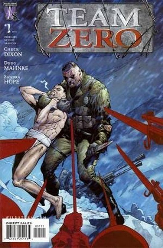 Cover of Team Zero (2005 Ltd) #1. One of 250,000 Vintage American Comics on sale from Krypton!