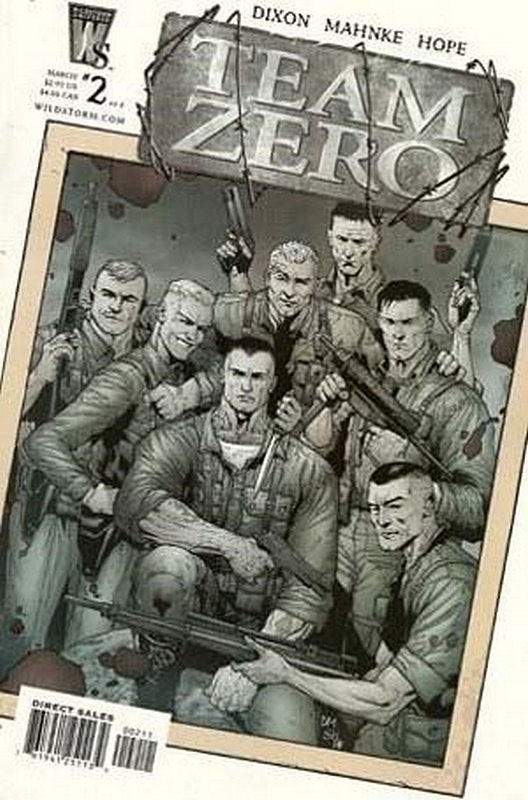 Cover of Team Zero (2005 Ltd) #2. One of 250,000 Vintage American Comics on sale from Krypton!