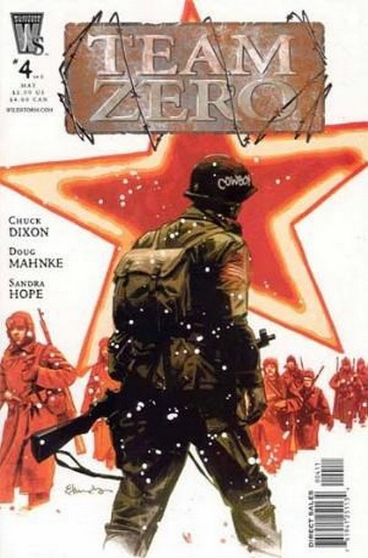 Cover of Team Zero (2005 Ltd) #4. One of 250,000 Vintage American Comics on sale from Krypton!