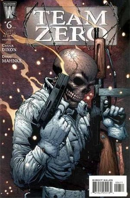 Cover of Team Zero (2005 Ltd) #6. One of 250,000 Vintage American Comics on sale from Krypton!