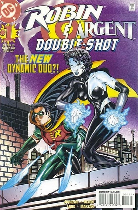 Cover of Robin Argent Double Shot #1. One of 250,000 Vintage American Comics on sale from Krypton!