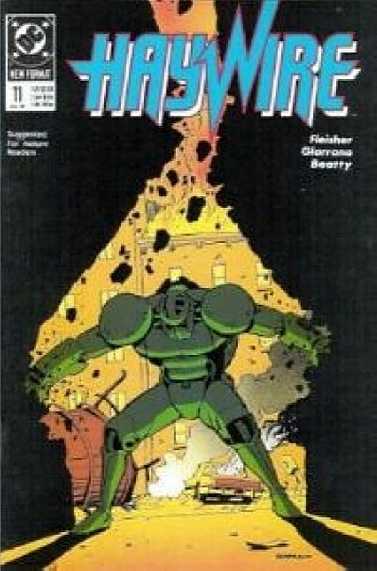 Cover of Haywire (Vol 1) #11. One of 250,000 Vintage American Comics on sale from Krypton!