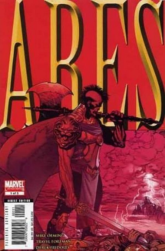 Cover of Ares (2006 Ltd) #1. One of 250,000 Vintage American Comics on sale from Krypton!