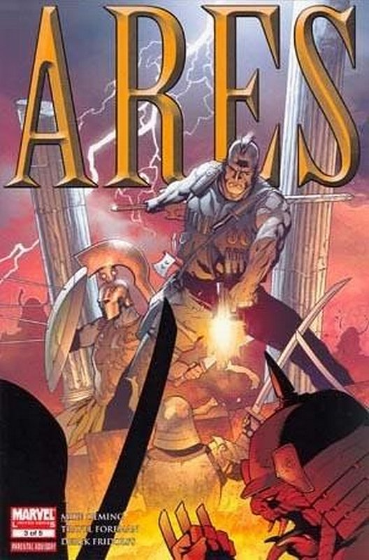 Cover of Ares (2006 Ltd) #3. One of 250,000 Vintage American Comics on sale from Krypton!