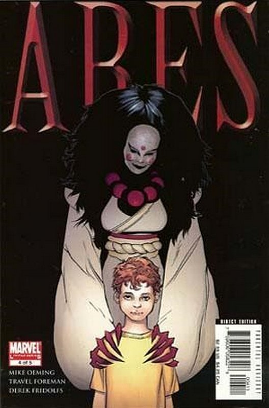 Cover of Ares (2006 Ltd) #4. One of 250,000 Vintage American Comics on sale from Krypton!