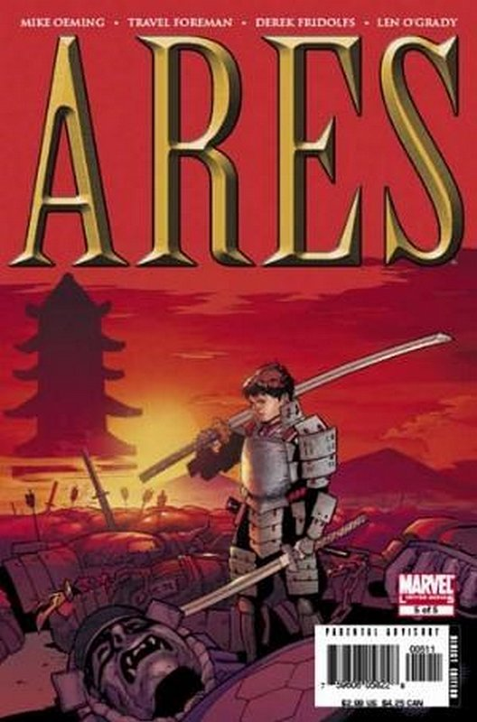 Cover of Ares (2006 Ltd) #5. One of 250,000 Vintage American Comics on sale from Krypton!