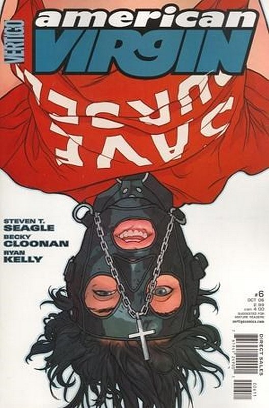Cover of American Virgin (Vol 1) #6. One of 250,000 Vintage American Comics on sale from Krypton!