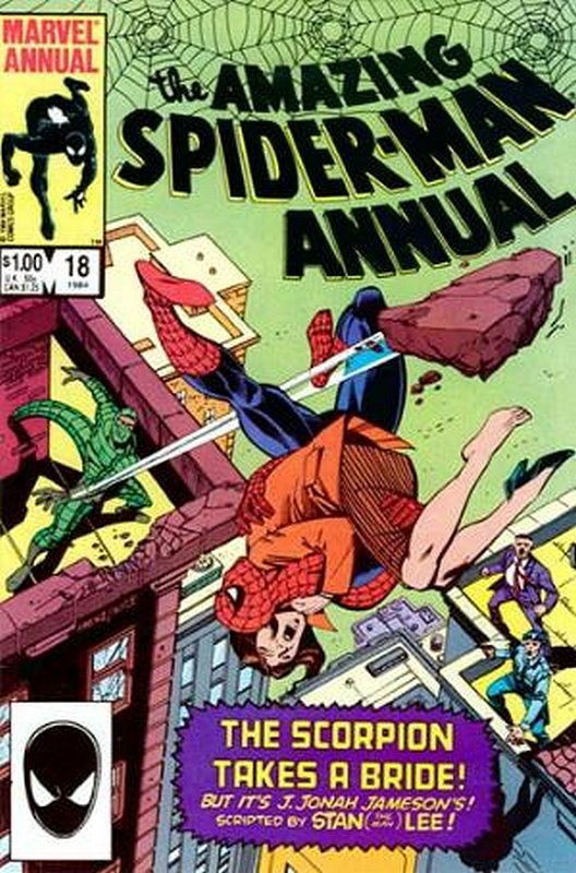 Cover of Amazing Spider-Man Annual (Vol 1) #18. One of 250,000 Vintage American Comics on sale from Krypton!
