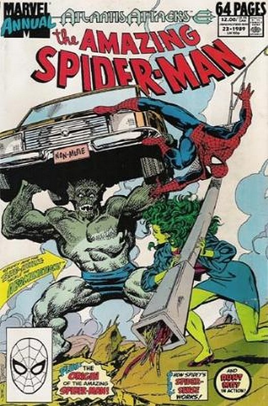 Cover of Amazing Spider-Man Annual (Vol 1) #23. One of 250,000 Vintage American Comics on sale from Krypton!