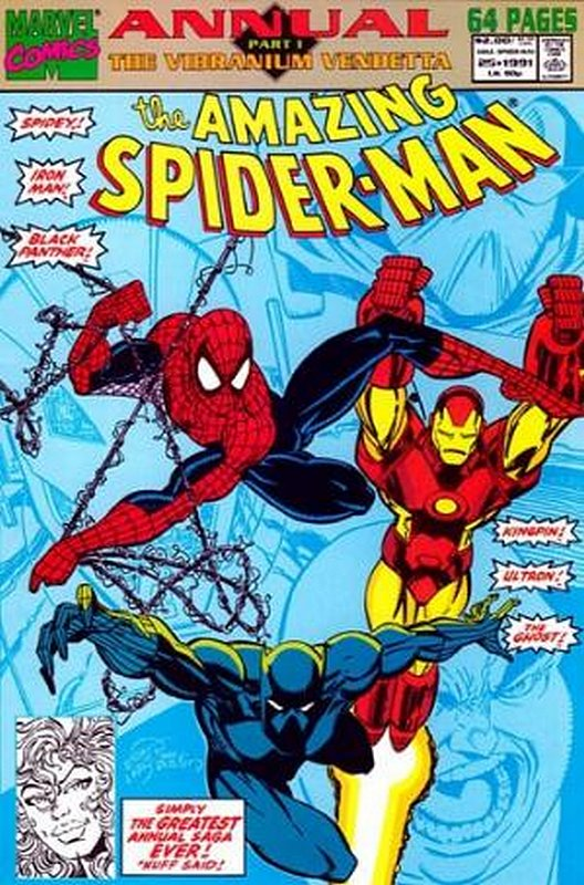 Cover of Amazing Spider-Man Annual (Vol 1) #25. One of 250,000 Vintage American Comics on sale from Krypton!