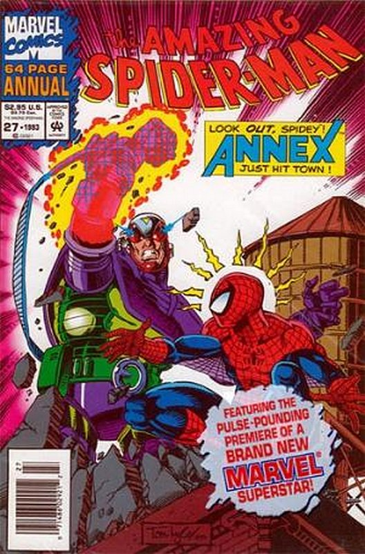 Cover of Amazing Spider-Man Annual (Vol 1) #27. One of 250,000 Vintage American Comics on sale from Krypton!
