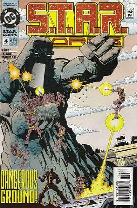 Cover of Star Corps (1994 Ltd) #4. One of 250,000 Vintage American Comics on sale from Krypton!