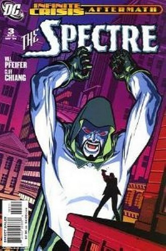 Cover of Infinite Crisis Aftermath: The Spectre (2006 Ltd) #3. One of 250,000 Vintage American Comics on sale from Krypton!
