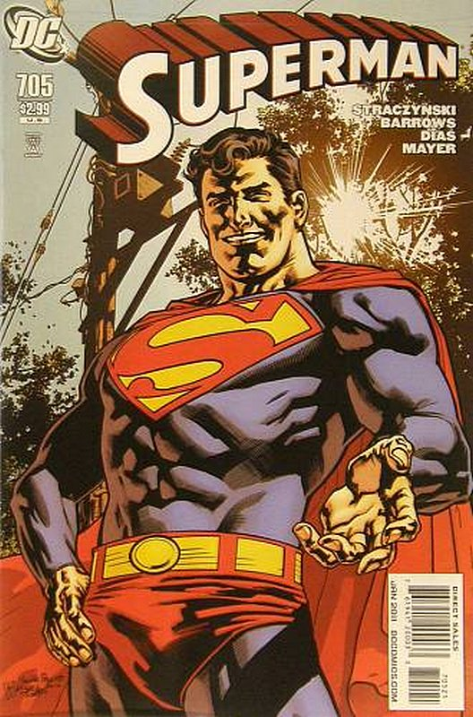 Cover of Superman (Vol 3) #705. One of 250,000 Vintage American Comics on sale from Krypton!