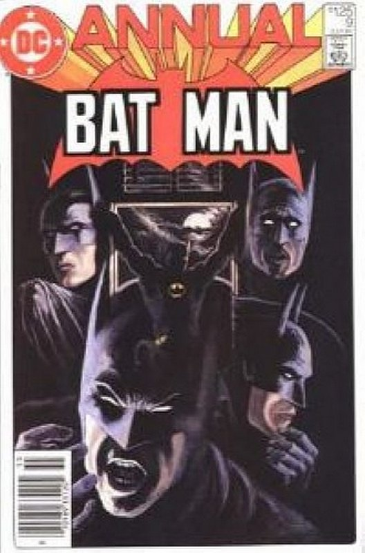 Cover of Batman Annual #9. One of 250,000 Vintage American Comics on sale from Krypton!
