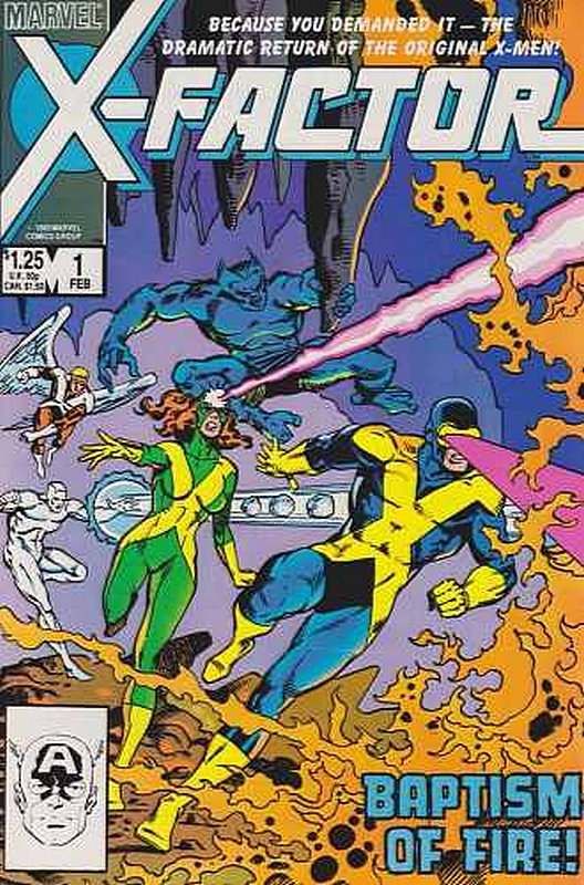 Cover of X-Factor (Vol 1) #1. One of 250,000 Vintage American Comics on sale from Krypton!