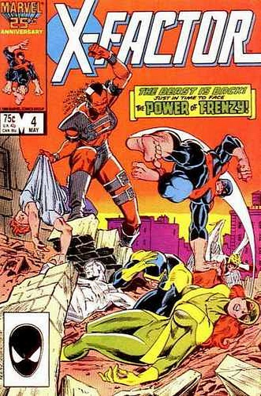 Cover of X-Factor (Vol 1) #4. One of 250,000 Vintage American Comics on sale from Krypton!