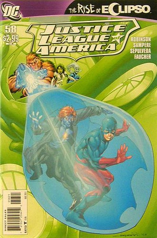 Cover of Justice League of America (Vol 2) #58. One of 250,000 Vintage American Comics on sale from Krypton!