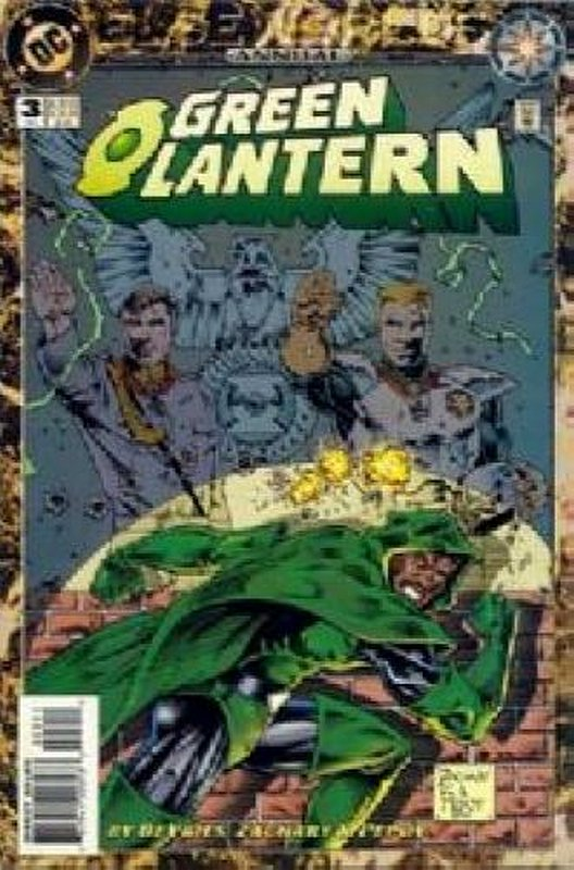 Cover of Green Lantern Annual #3. One of 250,000 Vintage American Comics on sale from Krypton!
