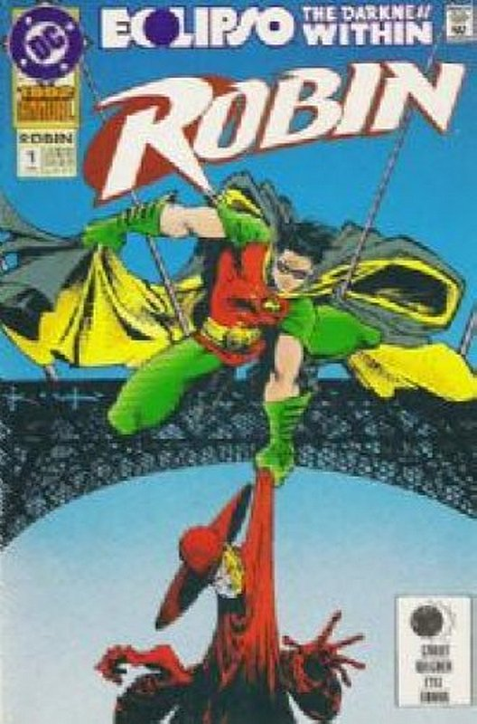 Cover of Robin Annual #1. One of 250,000 Vintage American Comics on sale from Krypton!