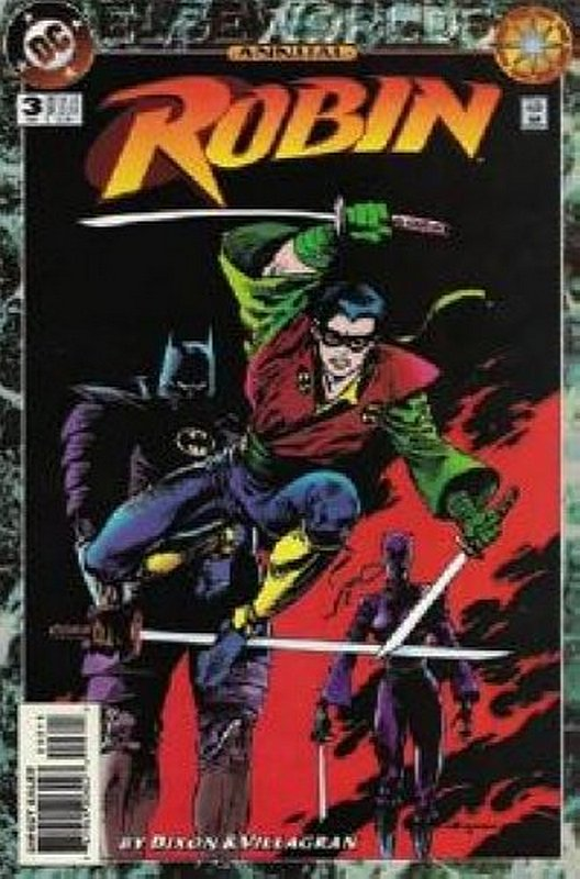 Cover of Robin Annual #3. One of 250,000 Vintage American Comics on sale from Krypton!