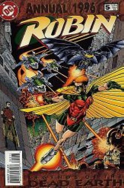 Cover of Robin Annual #5. One of 250,000 Vintage American Comics on sale from Krypton!