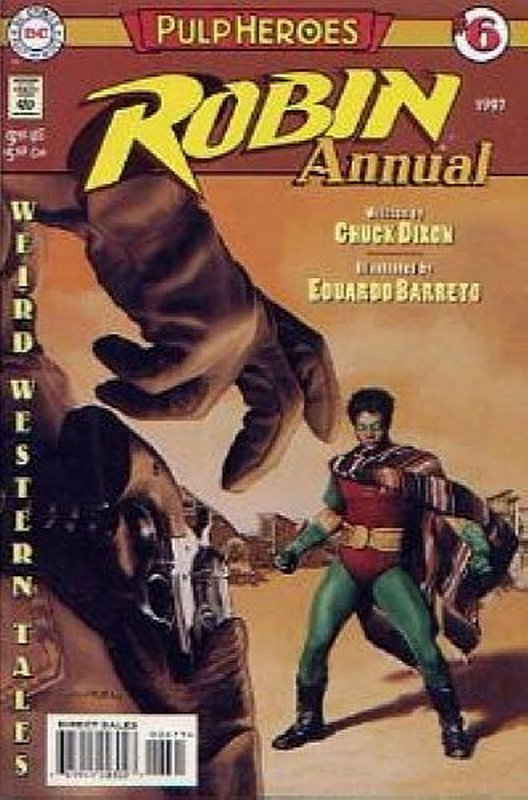 Cover of Robin Annual #6. One of 250,000 Vintage American Comics on sale from Krypton!