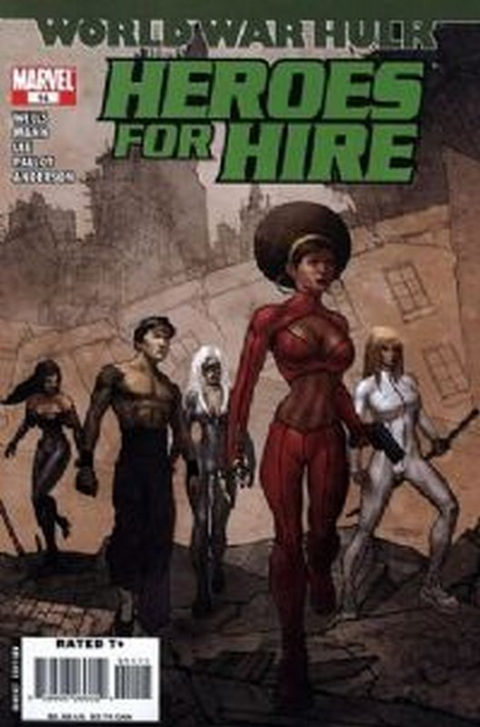 Cover of Heroes for Hire (Vol 2) #14. One of 250,000 Vintage American Comics on sale from Krypton!