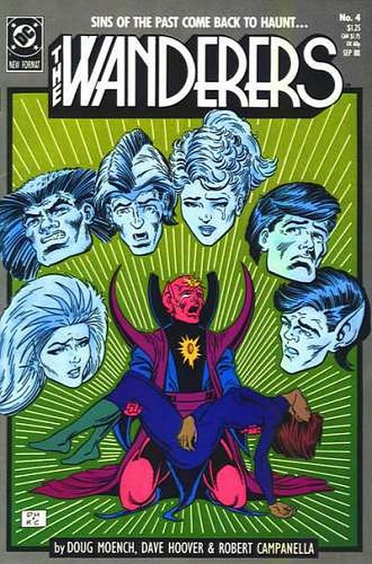 Cover of Wanderers (Vol 1) The #4. One of 250,000 Vintage American Comics on sale from Krypton!