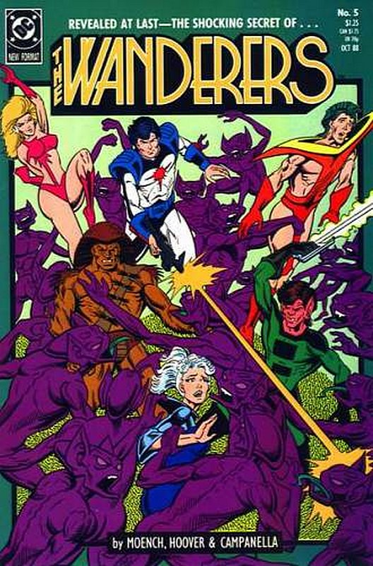 Cover of Wanderers (Vol 1) The #5. One of 250,000 Vintage American Comics on sale from Krypton!
