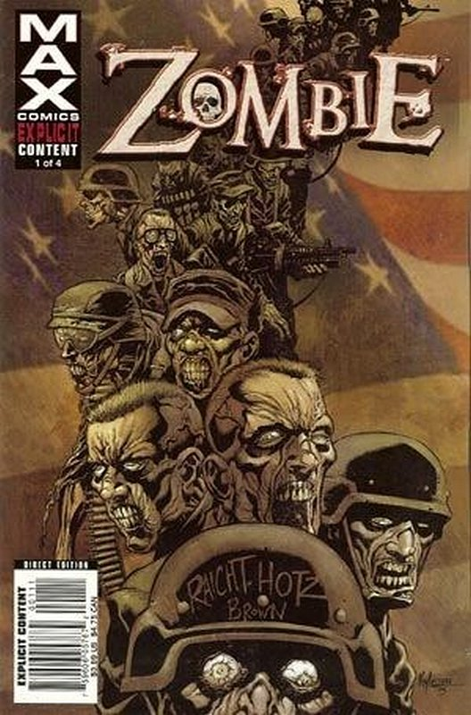 Cover of Zombie (2006 Ltd) #1. One of 250,000 Vintage American Comics on sale from Krypton!