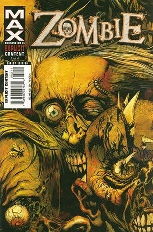 Cover of Zombie (2006 Ltd) #2. One of 250,000 Vintage American Comics on sale from Krypton!