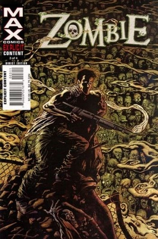 Cover of Zombie (2006 Ltd) #3. One of 250,000 Vintage American Comics on sale from Krypton!