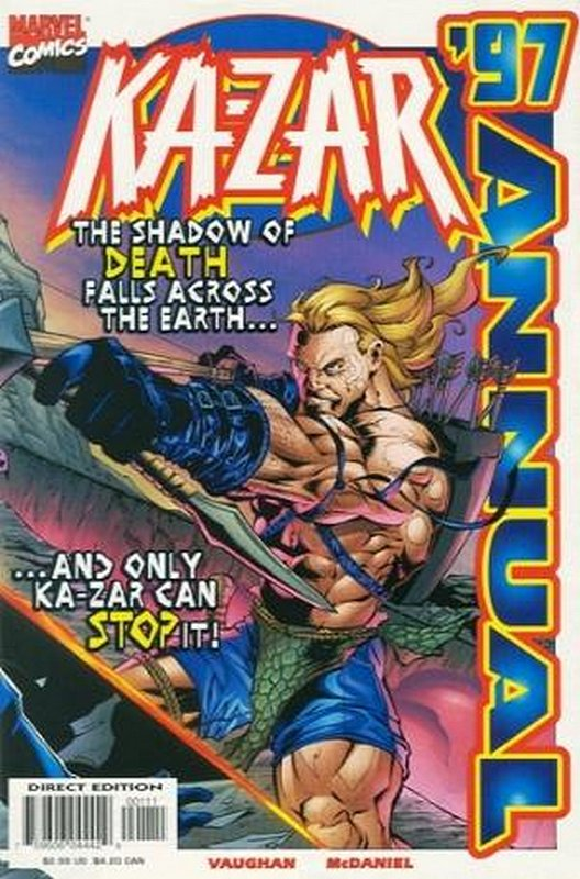 Cover of Ka-Zar Annual (1997) #1997. One of 250,000 Vintage American Comics on sale from Krypton!