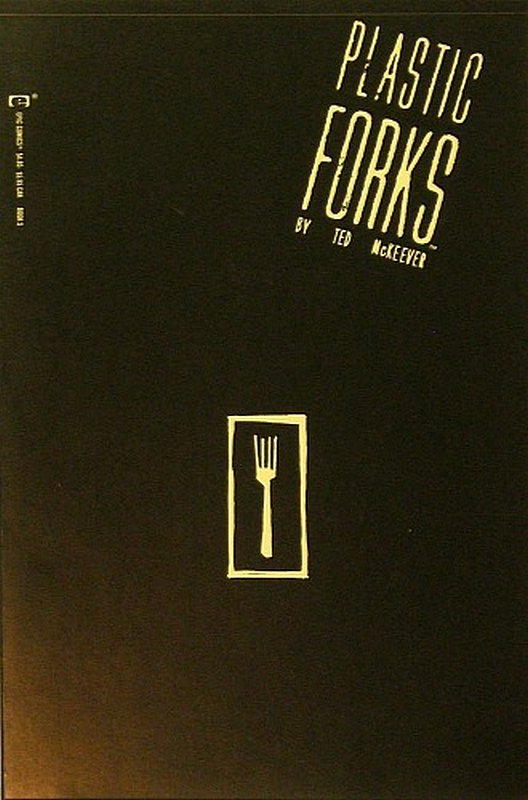 Cover of Plastic Forks (1990 Ltd) #5. One of 250,000 Vintage American Comics on sale from Krypton!