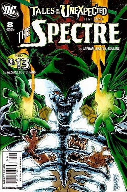 Cover of Tales of the Unexpected (2006 Ltd) #8. One of 250,000 Vintage American Comics on sale from Krypton!