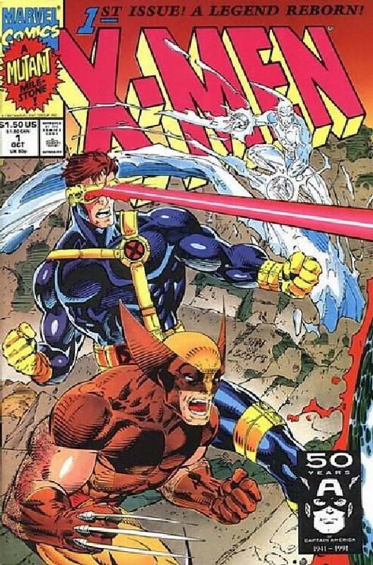 Cover of X-Men (Legacy) (Vol 1) #1. One of 250,000 Vintage American Comics on sale from Krypton!
