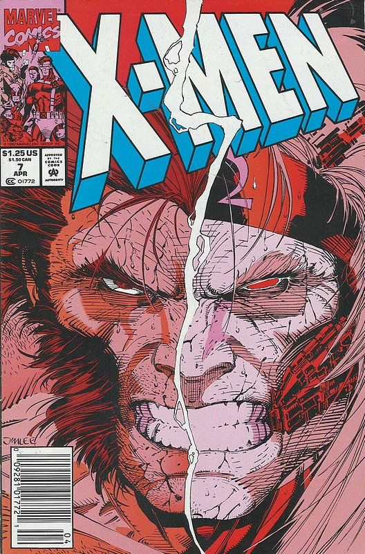 Cover of X-Men (Legacy) (Vol 1) #7. One of 250,000 Vintage American Comics on sale from Krypton!