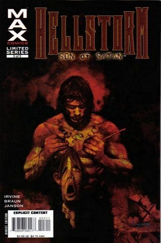 Cover of Hellstorm: Son of Satan (2006 Ltd) #3. One of 250,000 Vintage American Comics on sale from Krypton!