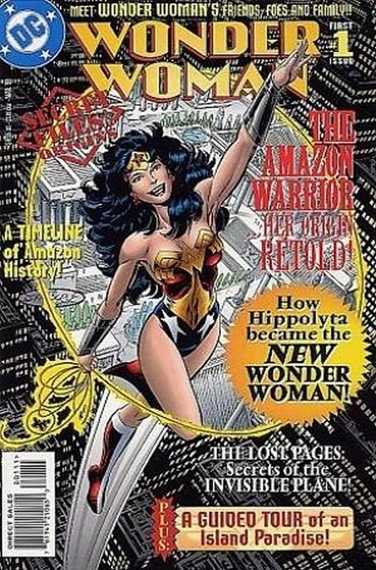 Cover of Wonder Woman Secret Files #1. One of 250,000 Vintage American Comics on sale from Krypton!