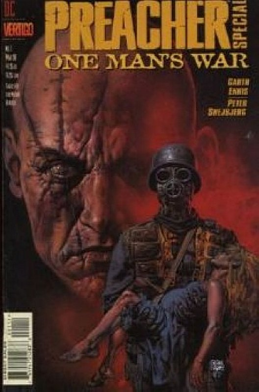 Cover of Preacher Special: One Mans War #1. One of 250,000 Vintage American Comics on sale from Krypton!