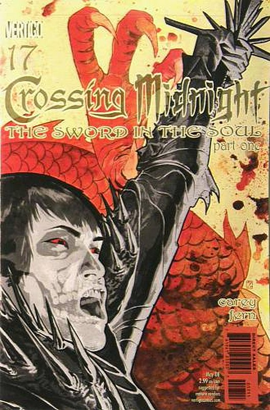 Cover of Crossing Midnight (Vol 1) #17. One of 250,000 Vintage American Comics on sale from Krypton!