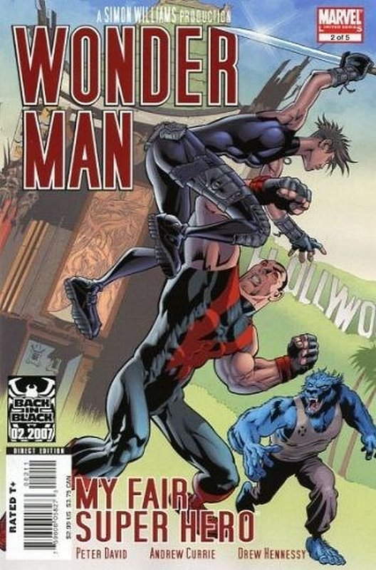 Cover of Wonder Man (2007 Ltd) #2. One of 250,000 Vintage American Comics on sale from Krypton!