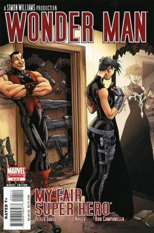 Cover of Wonder Man (2007 Ltd) #4. One of 250,000 Vintage American Comics on sale from Krypton!