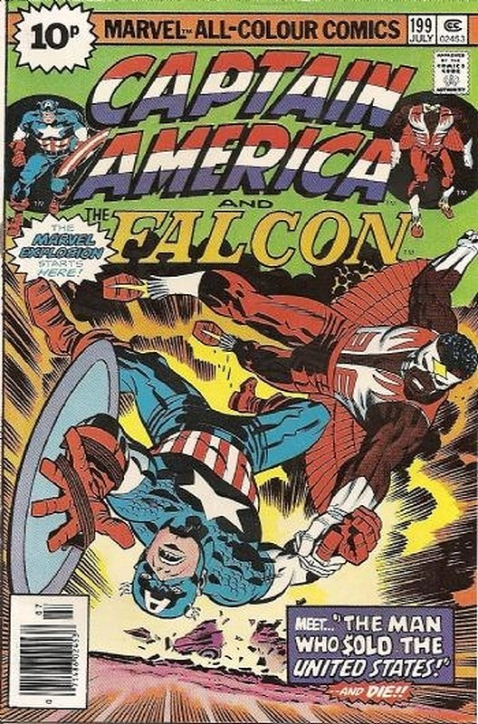 Cover of Captain America (Vol 1) #199. One of 250,000 Vintage American Comics on sale from Krypton!
