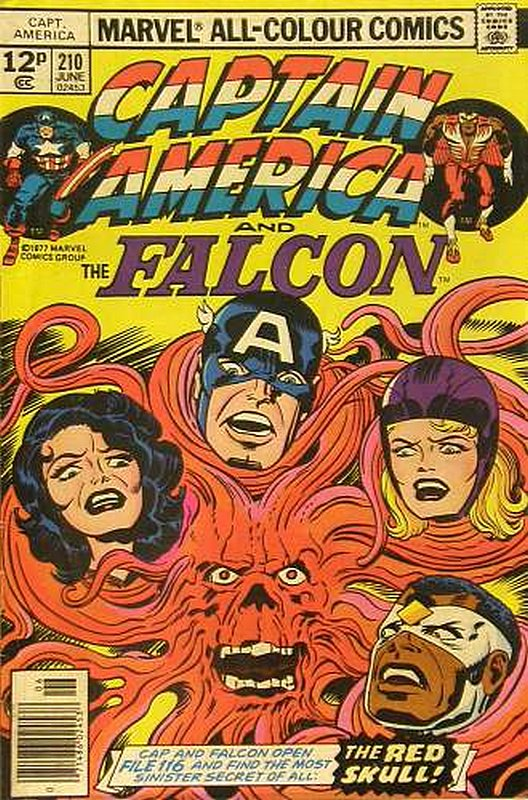 Cover of Captain America (Vol 1) #210. One of 250,000 Vintage American Comics on sale from Krypton!